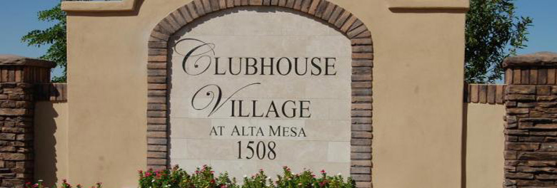 Clubhouse Village at Alta Mesa Homes For Sale In Mesa