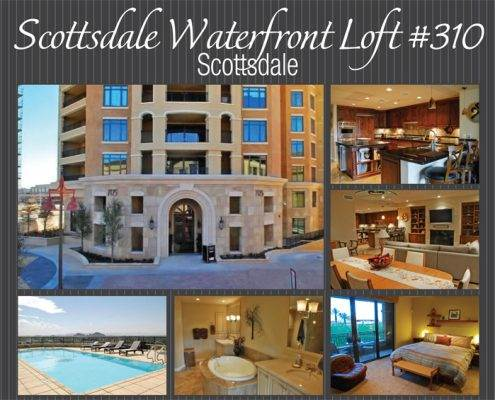 New Scottsdale Waterfront Loft For Sale